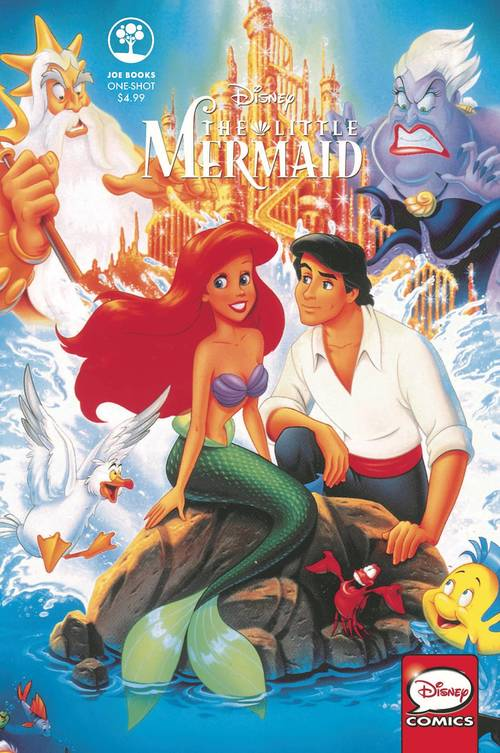 Joe books inc disney the little mermaid one shot 20180430