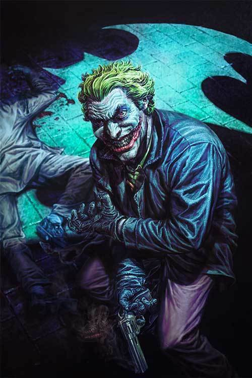 Joker 80th Anniversary 100 Page Super Spectacular #1 2000s Lee Bermejo Cover
