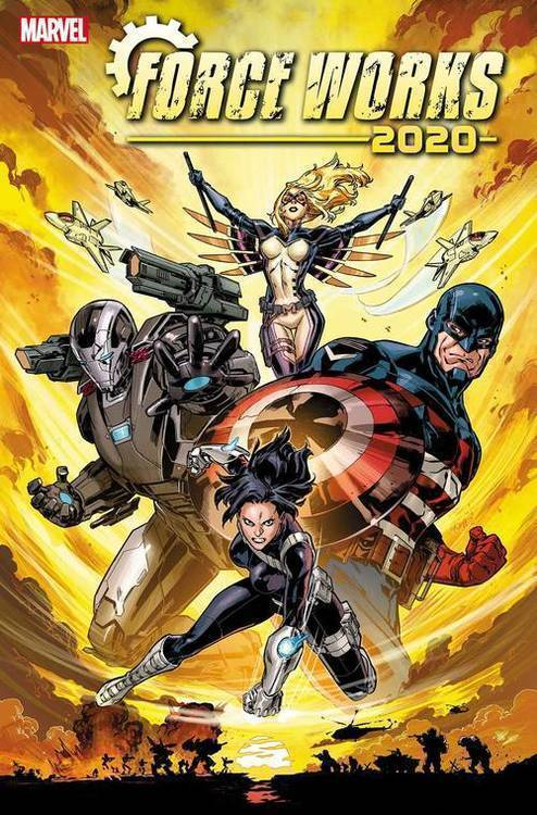 Marvel comics 2020 force works 20191127