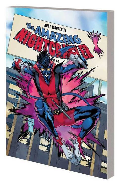 Marvel comics age of x man amazing nightcrawler tpb 20190529