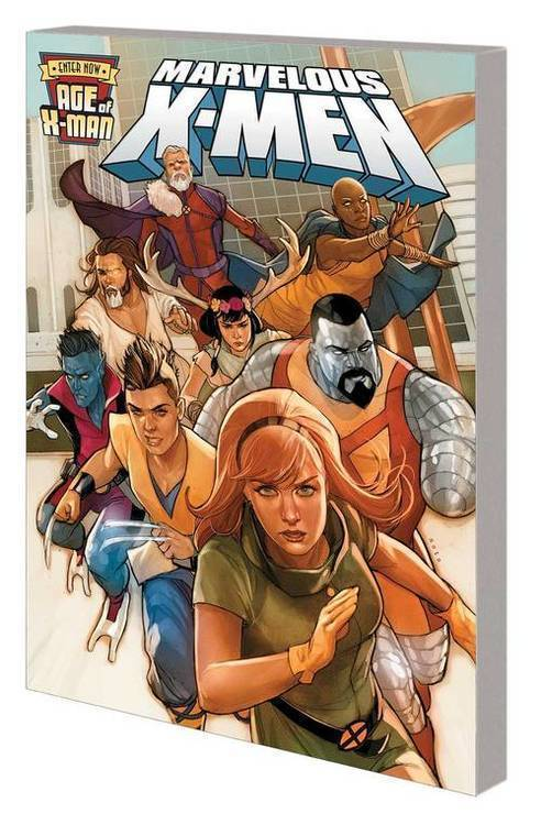 Marvel comics age of x man marvelous x men tpb 20190424