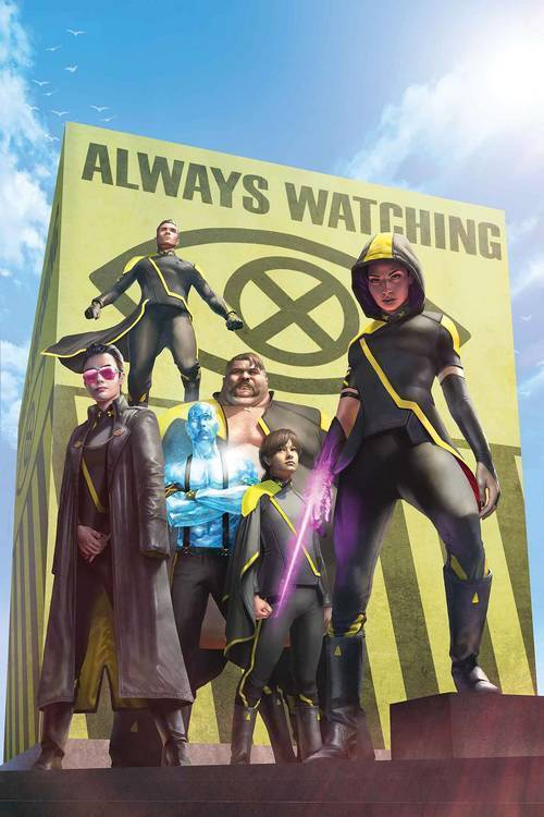 Marvel comics age of x man x tremists 20181130