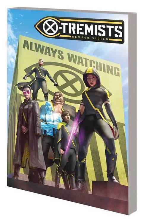 Marvel comics age of x man x tremists tpb 20190529