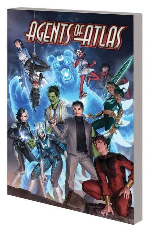 Marvel comics agents of atlas tpb 20191031
