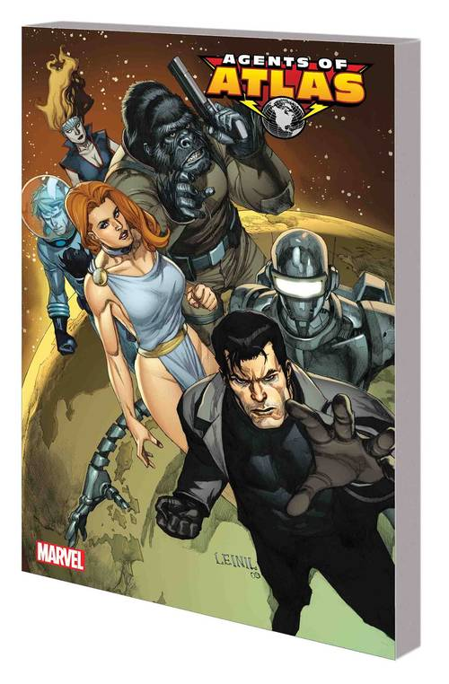 Marvel comics agents of atlas tpb complete collection vol 01 20171231