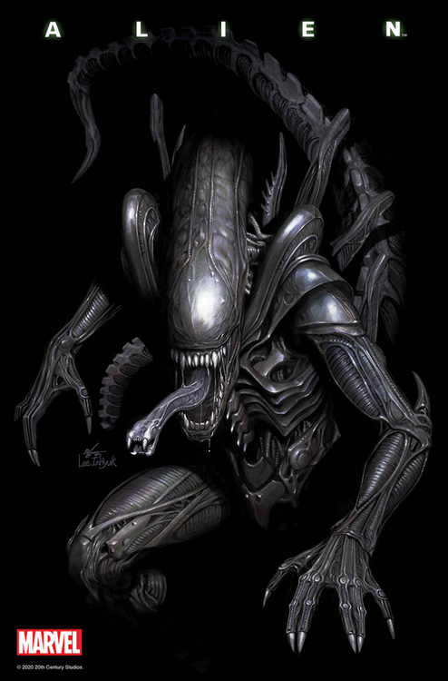Marvel comics alien 20210101