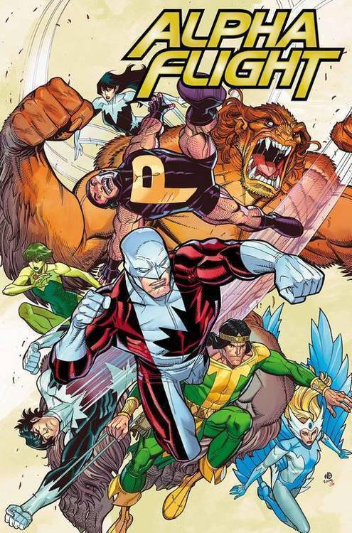 Marvel comics alpha flight true north 20190626
