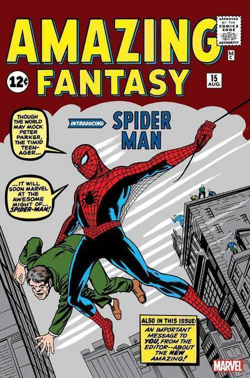 Marvel comics amazing fantasy 15 facsimile edition 20190730