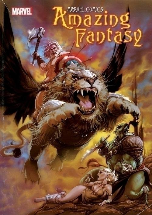 Marvel comics amazing fantasy 20210502