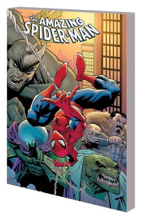 Marvel comics amazing spider man by nick spencer tpb vol 01 back basics 20180830