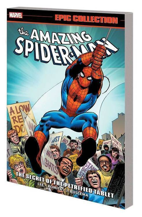 Marvel comics amazing spider man epic coll tpb secret of petrified tablet 20191031