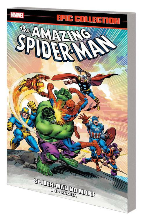 Marvel comics amazing spider man epic collection spider man no more tpb 20180203