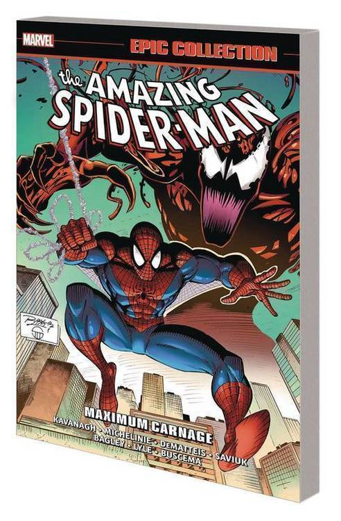 Marvel comics amazing spider man epic collection tpb maximum carnage 20190926