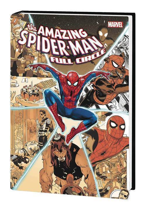 Marvel comics amazing spider man hardcover full circle 20190926
