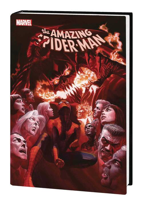 Marvel comics amazing spider man hardcover red goblin 20180530