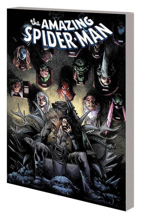 Marvel comics amazing spider man tpb hunted 20190424