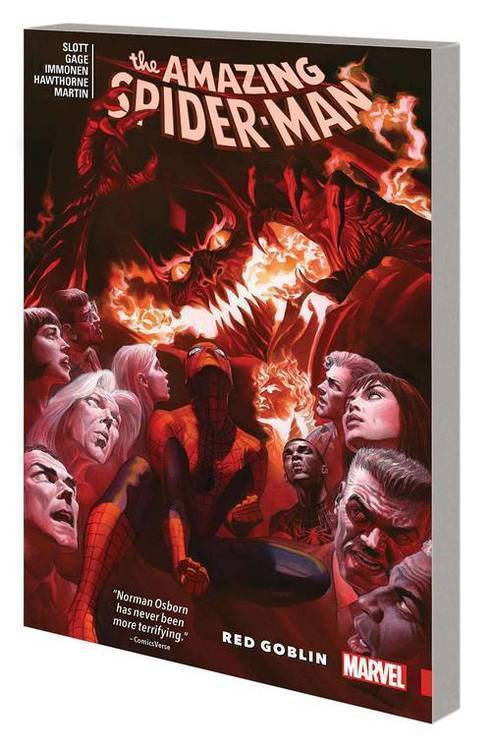 Marvel comics amazing spider man tpb red goblin 20190730