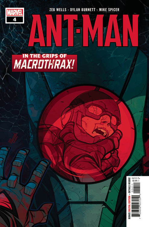 Marvel comics ant man 4 of 5 20200709 variant edition