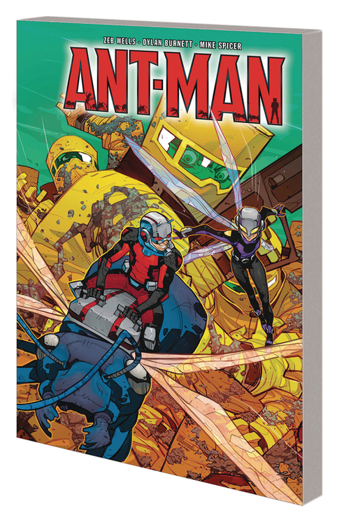Marvel comics ant man world hive tp 20200528