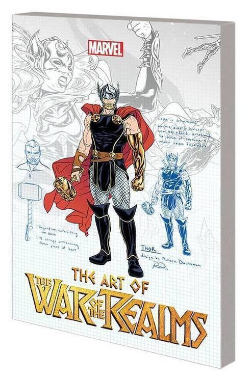 Marvel comics art of war of realms tpb 20190129