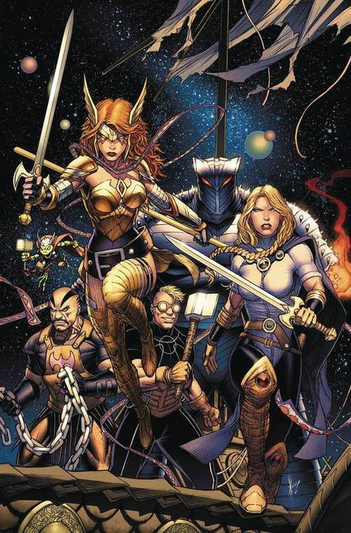 Marvel comics asgardians of the galaxy 20180701