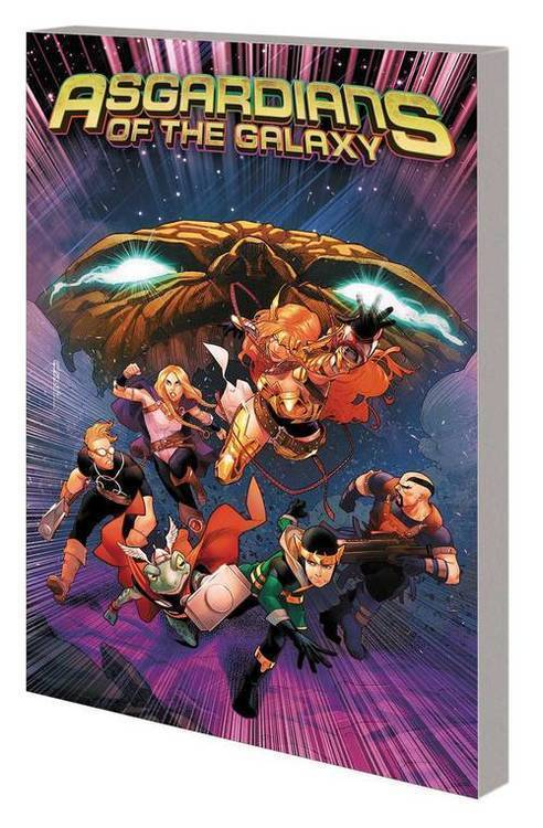Marvel comics asgardians of the galaxy tpb volume 02 war of realms 20190424