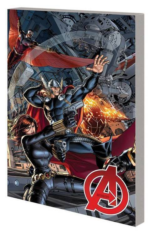 Marvel comics avengers by hickman complete collection tpb volume 01 20200225