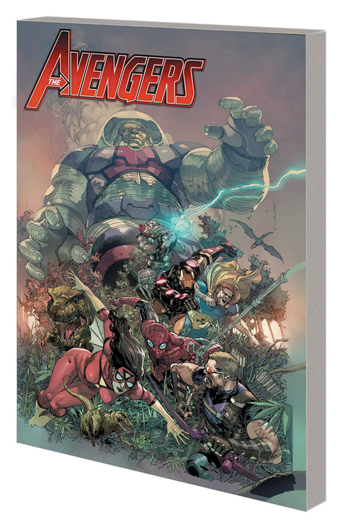 Marvel comics avengers by hickman complete collection tpb volume 02 20200730