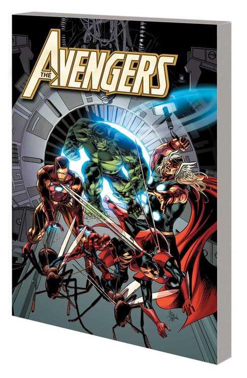 Marvel comics avengers by hickman complete collection tpb volume 04 20201125