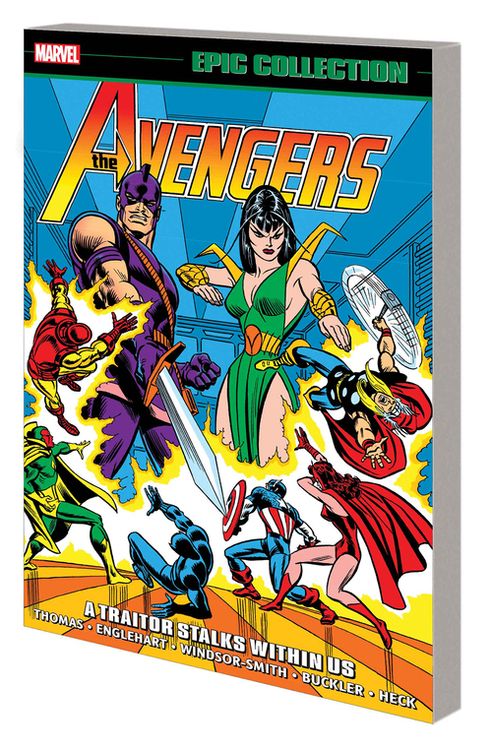 Marvel comics avengers epic collection tpb a traitor stalks within us 20210126
