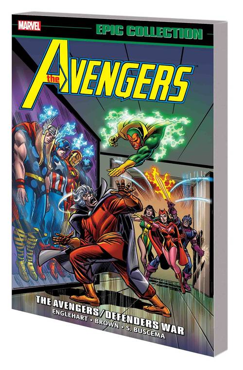 Marvel comics avengers epic collection tpb avengers defenders war 20171231