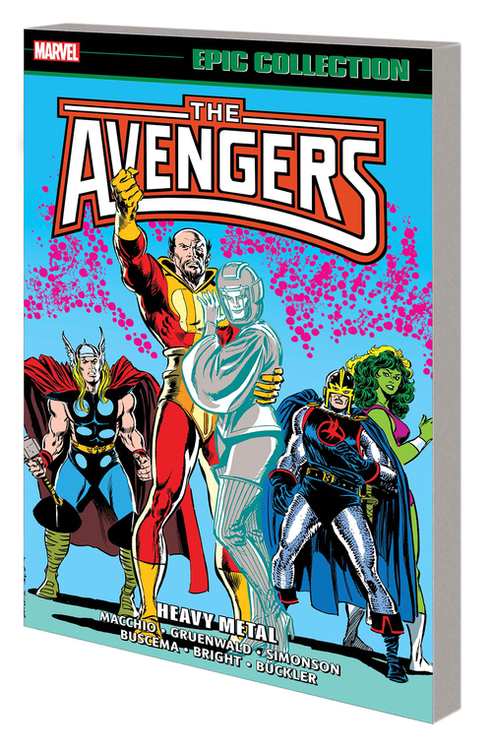 Marvel comics avengers epic collection tpb heavy metal 20200730