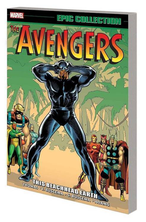 Marvel comics avengers epic collection tpb this beachhead earth 20200225