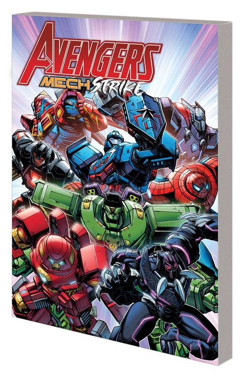Marvel comics avengers mech strike tpb 20210526