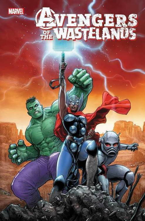 Marvel comics avengers of the wastelands 20191031