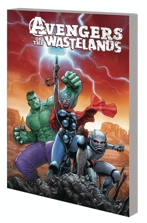Marvel comics avengers of the wastelands tpb 20200328