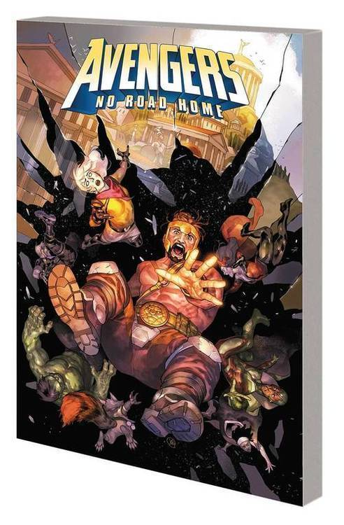 Marvel comics avengers tpb no road home 20190225