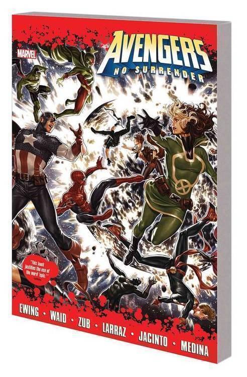 Marvel comics avengers tpb no surrender 20180928
