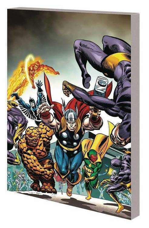 Avengers Vs Fantastic Four TPB