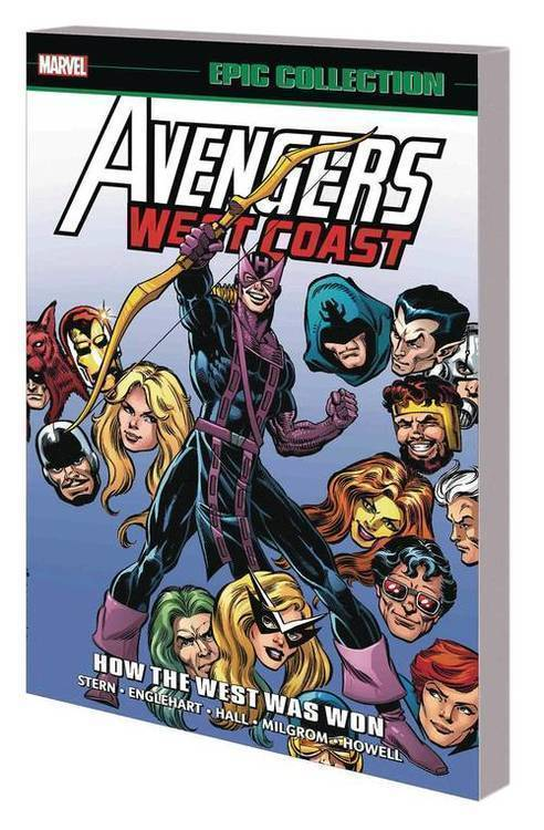 Marvel comics avengers west coast epic collection tpb how the west was won 20180701