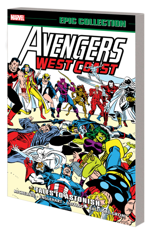 Marvel comics avengers west coast epic collection tpb tales to astonish 20200627