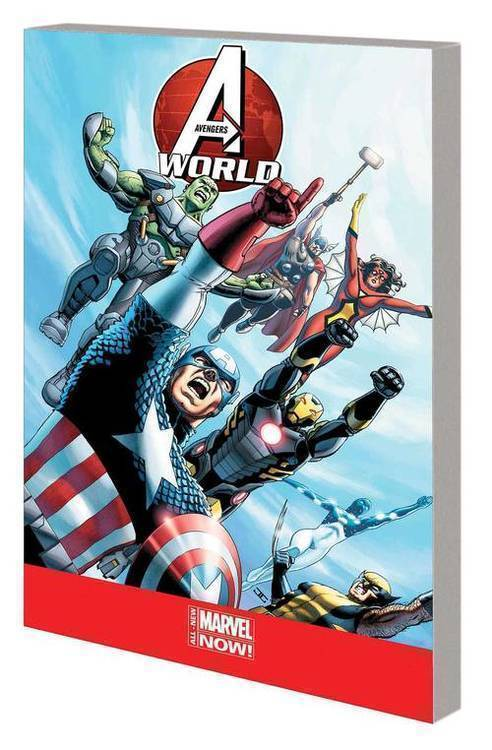 Marvel comics avengers world tp complete collection 20181231
