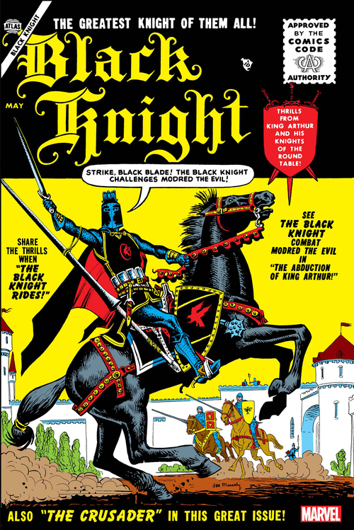 Marvel comics black knight 1 facsimile edition 20201125