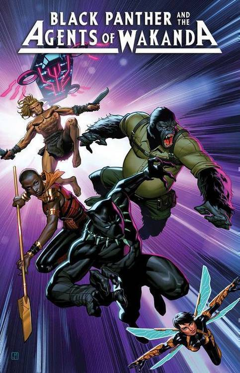 Marvel comics black panther and agents of wakanda 20190626