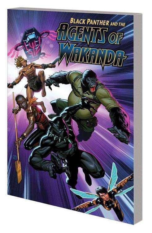 Marvel comics black panther and agents of wakanda tpb volume 1 20191127