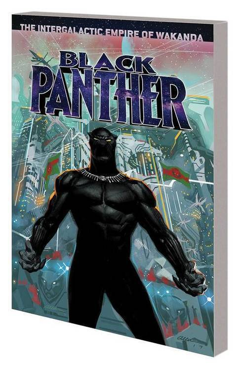 Marvel comics black panther tpb book 06 intergalactic empire wakanda 20181025