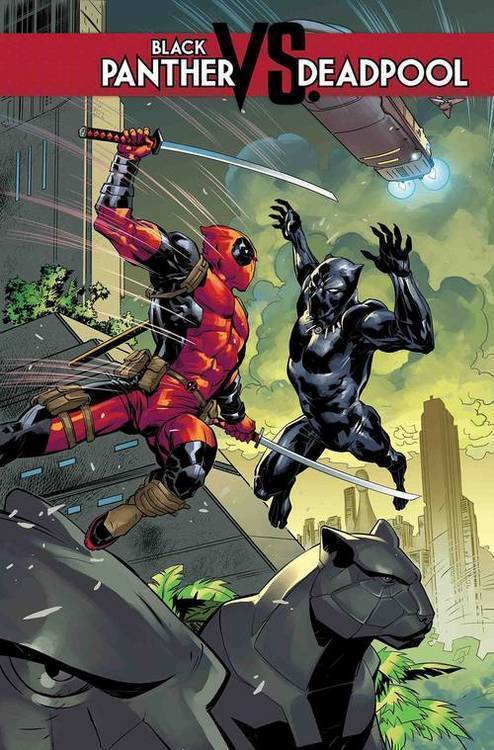 Marvel comics black panther vs deadpool 20180801