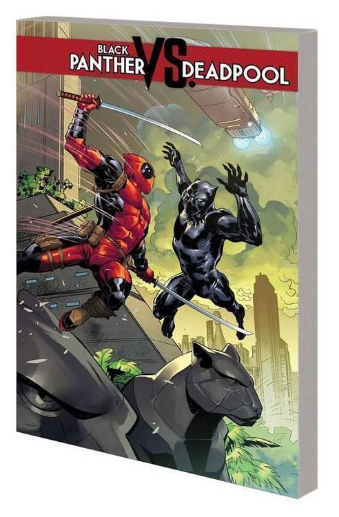 Marvel comics black panther vs deadpool tpb 20181130
