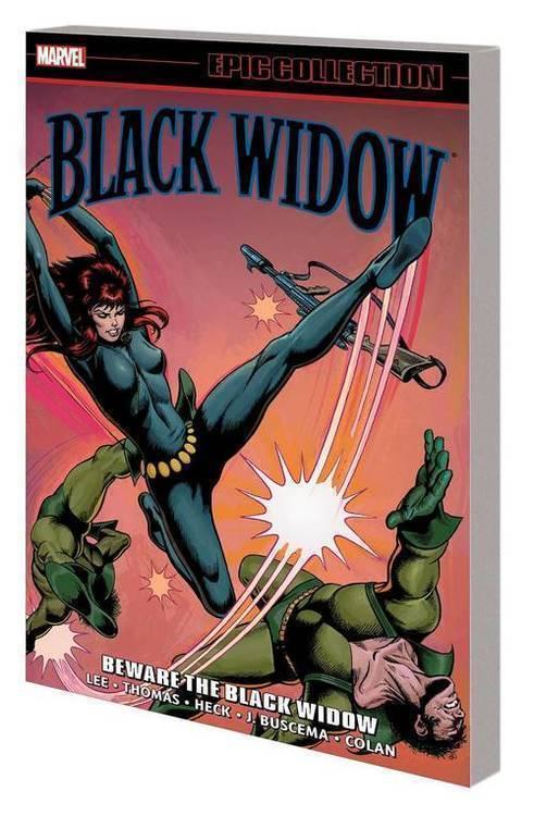 Marvel comics black widow epic collection tpb beware black widow 20191031