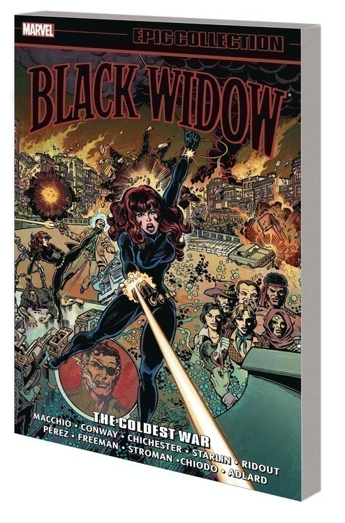 Marvel comics black widow epic collection tpb coldest war 20200328